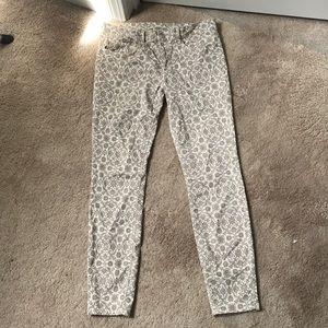 Zara Stretch Slim Fit Medium Rise Pants